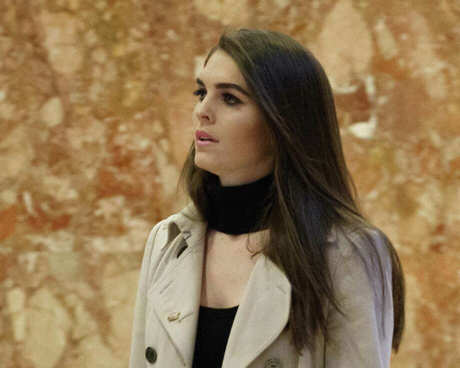 Hope Hicks of Greenwich was named director of strategic communications for President-elect Donald J. Trump, on Thursday. Photo: Evan Vucci / Associated Press / Copyright 2016 The Associated Press. All rights reserved.