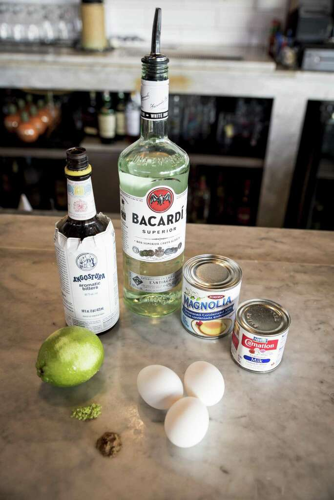 ingredients for the winter seasonal specialty ponche de crme a trinidadian and tobagan drink