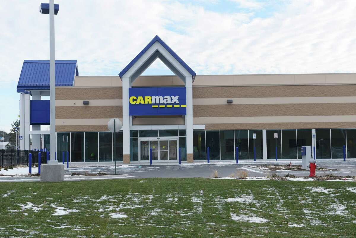 CarMax site work nearly finished