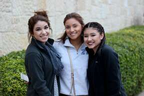 These fine people were found doing some last minute holiday shopping at La Cantera Dec. 22, 2016.