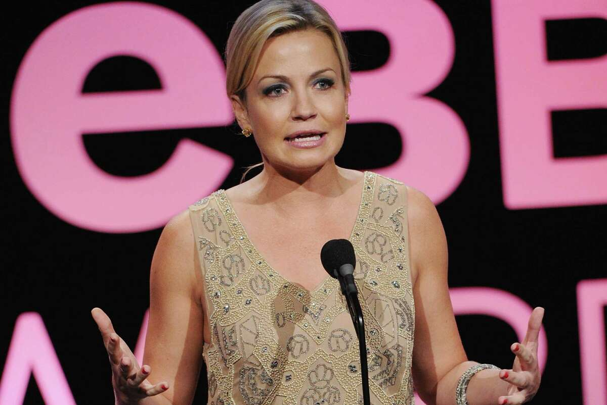 Michelle Beadle speaks on stage at the 17th annual Webby Awards at Cipriani Wall Street on May 21, 2013 in New York City.
