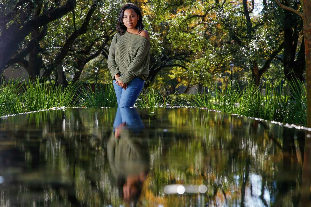 Former Rice University student president Jazz Silva stands for a portrait on campus Wednesday, Dec. 21, 2016 in Houston. Silva helped to create a new mandatory five-week course, Critical Thinking in Sexuality, to bring awareness to and help prevent sexual assault.