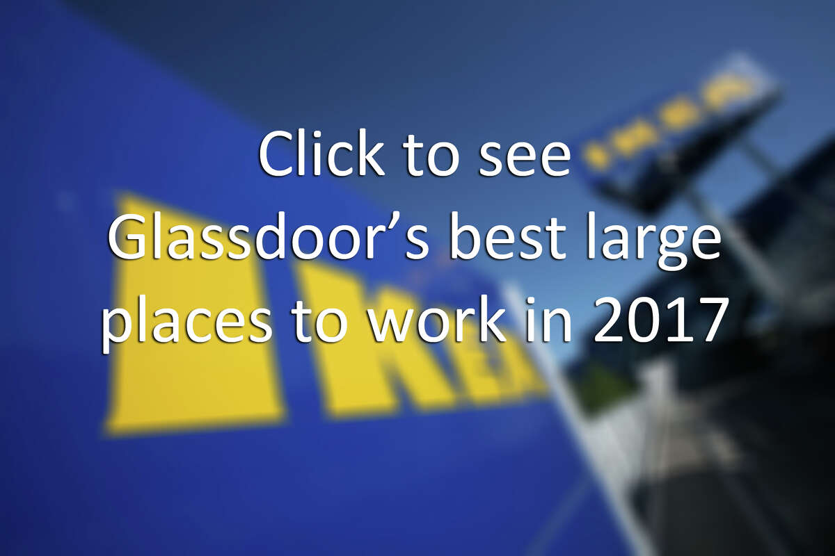 Click to see Glassdoor names 2017's best, large places to work in the US.
