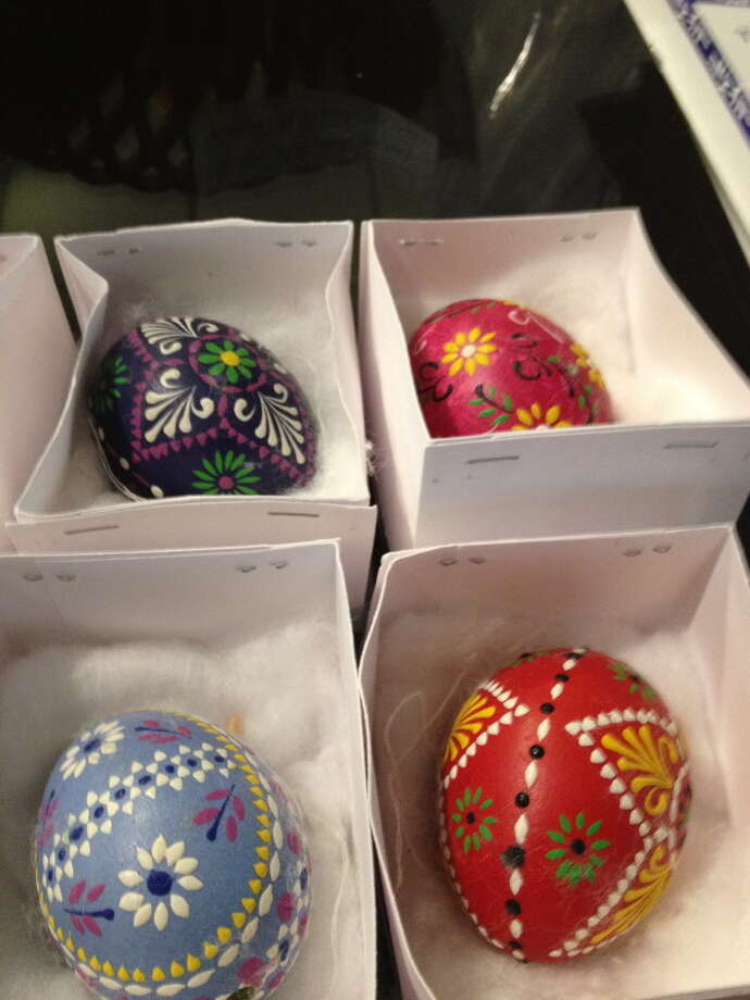 The beauty and intricacy of painted Easter eggs is a Wendish tradition that continues to this day. Photo: Joe Holley