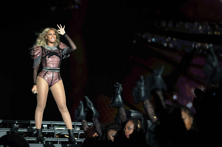 IMAGE DISTRIBUTED FOR PARKWOOD ENTERTAINMENT - Beyonce performs during the Formation World Tour at NRG Stadium on Thursday, Sept. 22, 2016, in Houston. (Photo by Daniela Vesco/Invision for Parkwood Entertainment/AP Images) Photo: Daniela Vesco, INVL / Invision
