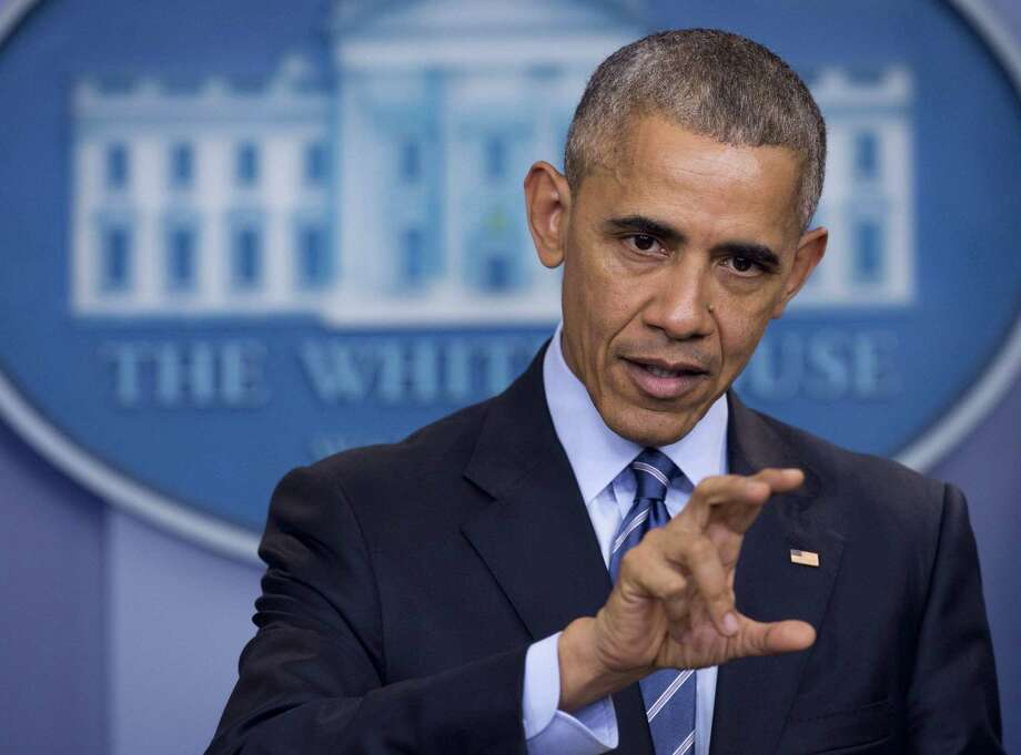 """President Barack Obama has promised """"retaliation"""" over the Russian hacking and interference in the U.S. presidential election. A reader doubts it. Photo: SAUL LOEB /AFP /Getty Images / AFP or licensors"""