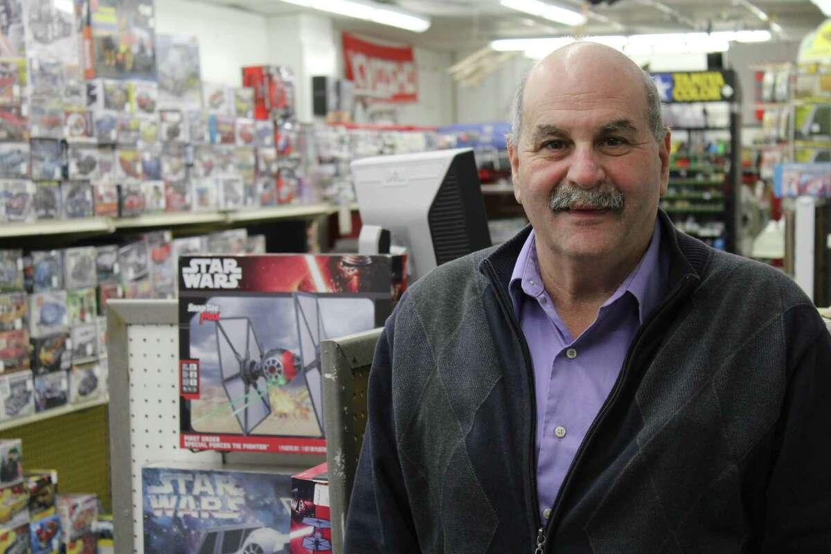 Rocco Castango, of Norwalk, has owned Heritage Hobbies at 33 Danbury Road for 12 years.