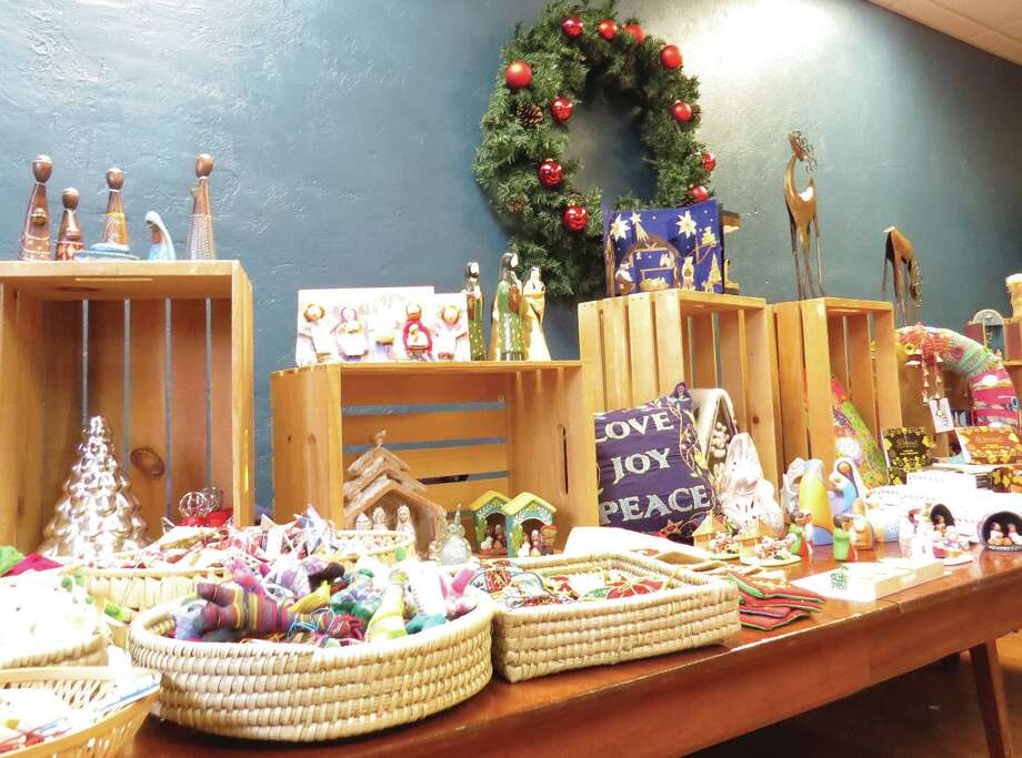 Plowsharing Crafts is back in Edwardsville with a pop-up shop for the holidays. The store, which was in downtown Edwardsville until it closed recently, will have the pop-up at Newsong Fellowship on Christmas Eve. Hours are 10 a.m. to 2 p.m. and 6:30 p.m. to 9:30 p.m. The night hours are surrounding the service there. That will be the last day. Photo: Carol Arnett • Intelligencer