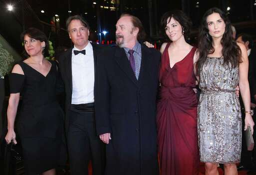 BERLIN - FEBRUARY 11:  Joyce Pierpoline, director Mitchell Lichtenstein, actors Rip Torn, Parker Posey and Demi Moore attend the premiere for 'Happy Tears' as part of the 59th Berlin Film Festival at the Berlinale Palast on February 11, 2009 in Berlin, Germany.  (Photo by Sean Gallup/Getty Images) *** Local Caption *** Joyce Pierpoline;Mitchell Lichtenstein;Rip Torn;Parker Posey;Demi Moore Photo: Sean Gallup, Getty Images / 2009 Getty Images