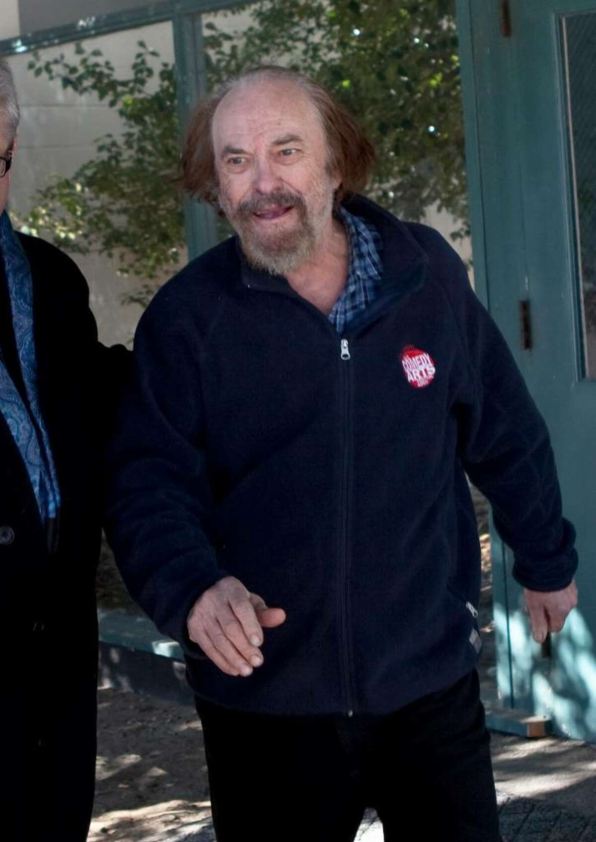 BANTAM, CT - FEBRUARY 1: Actor Rip Torn exits Bantam Superior Court February 1, 2010 in Bantam, Connecticut. Torn was arraigned on charges of criminal trespass, carrying a gun without a permit, carrying a gun while intoxicated, burglary and criminal mischief and was released on a $100,000 bond. Police responding to an alarm found Torn in the Litchfield Bancorp branch's lobby Friday night after he reportedly broke into the bank though a window while intoxicated. (Photo by Wendy Carlson/Getty Images) *** Local Caption *** Rip Torn