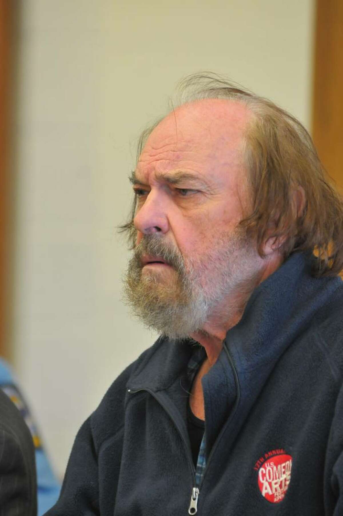 BANTAM, CT - FEBRUARY 1: Actor Rip Torn appears in Bantam Superior Court February 1, 2010 in Bantam, Connecticut. Torn was arraigned on charges of criminal trespass, carrying a gun without a permit, carrying a gun while intoxicated, burglary and criminal mischief and was released on a $100,000 bond. Police responding to an alarm found Torn in the Litchfield Bancorp branch's lobby Friday night after he reportedly broke into the bank though a window while intoxicated. (Photo by Jim Shannon-Pool/Getty Images) *** Local Caption *** Rip Torn