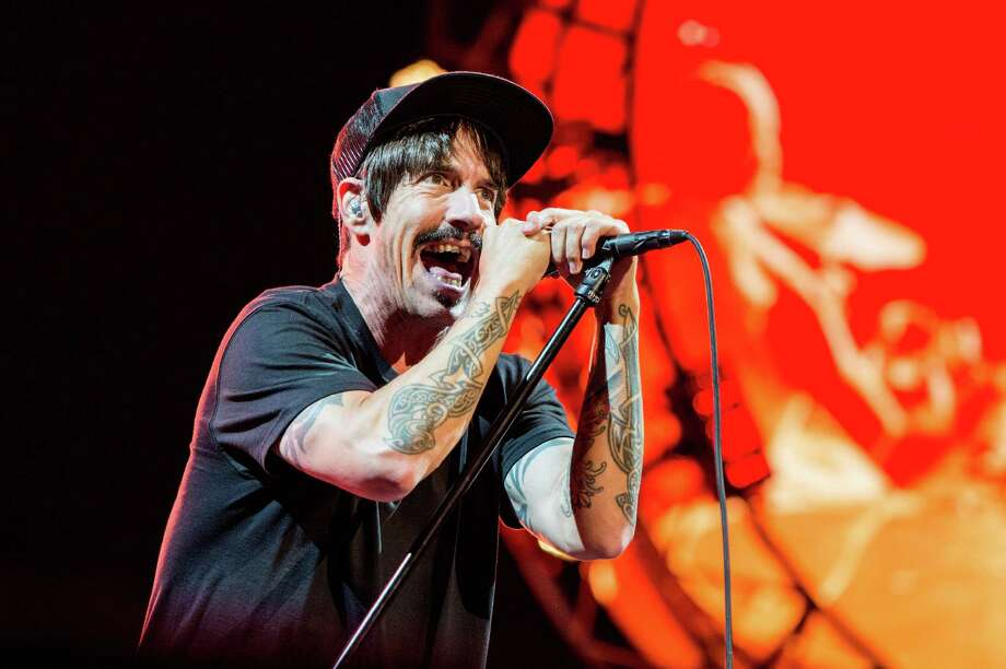 Anthony Kiedis will have perfect weather inside the AT&T Center when the Red Hot Chili Peppers perform Thursday. Photo: Amy Harris /Associated Press / Invision