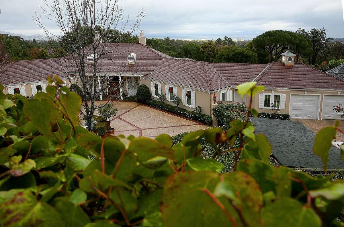 Arthur Stromberg's home on Friday, December 23, 2016, in Hillsborough, Calif.