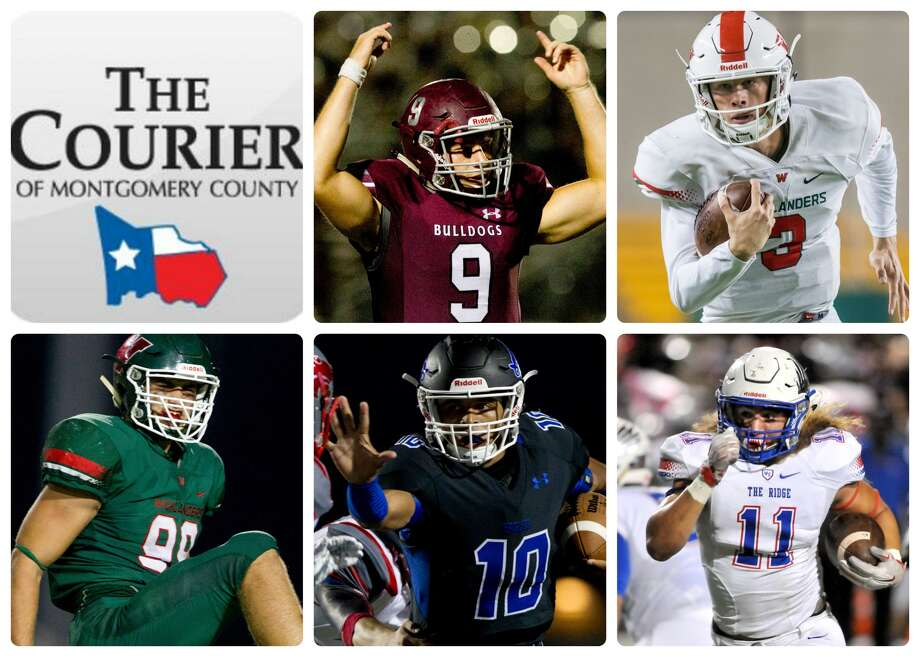 Magnolia's Jacob Frazier, The Woodlands' Eric Schmid, The Woodlands' Michael Purcell, New Caney's Jordan Cooper and Oak Ridge's Grant Stuard are The Courier's nominees for Player of the Year.