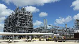 This ethane steam cracker at Dow Chemical Co.'s petrochemical complex near Freeport is similar to what Exxon Mobil and Saudi Arabia Basic Industries Corp. hope to bring to Portland.