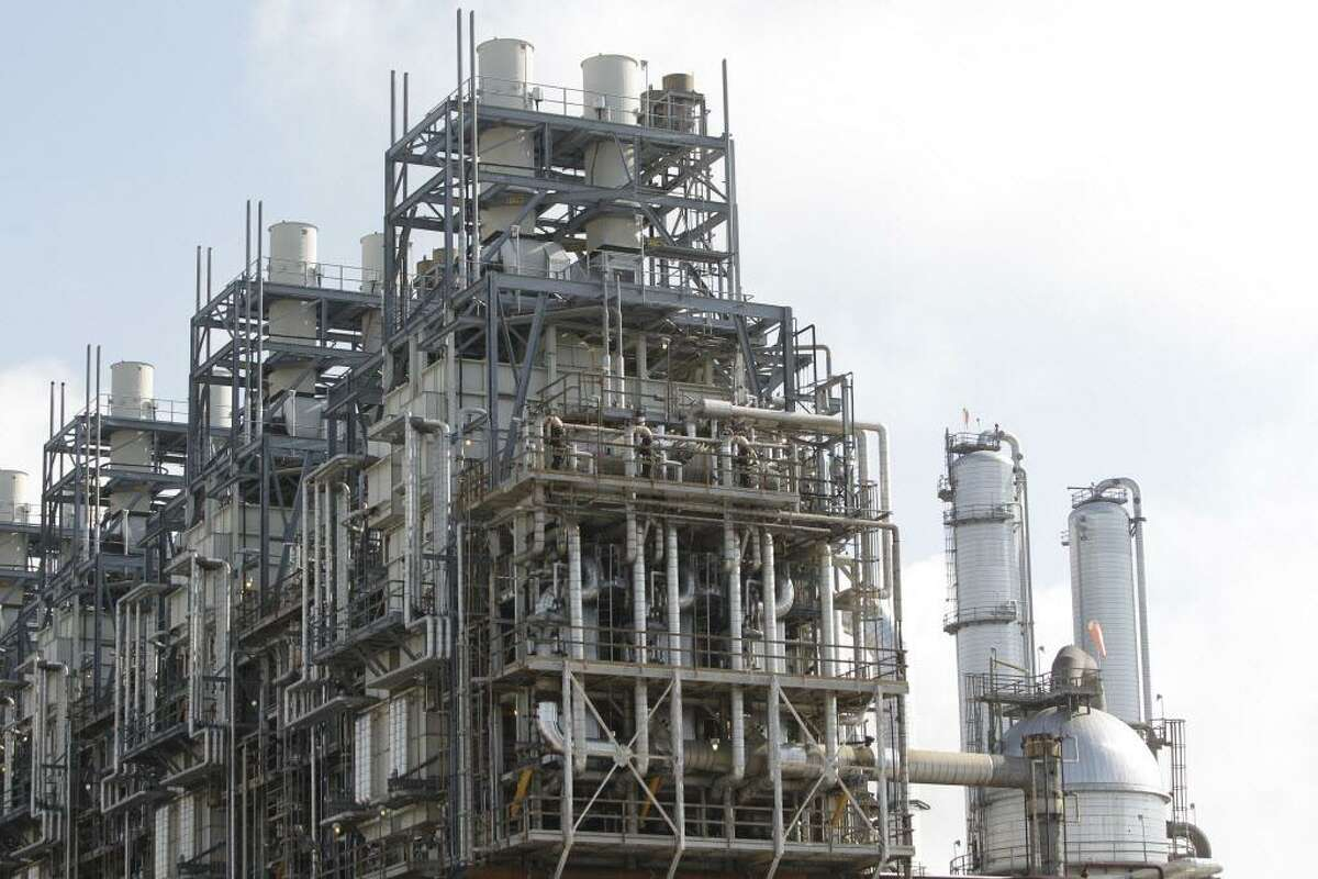 An ethane steam cracker unit at the Chevron Phillips Chemical Company's Cedar Bayou Plant in Baytown. Controversy is growing over a massive steam cracker facility proposed for near Portland, Texas, and located 2 miles from the town's high school.