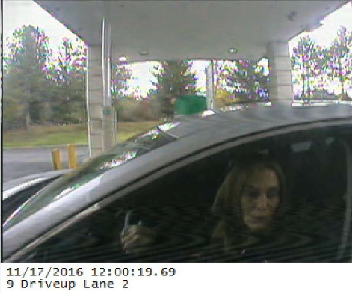 A suspect of the Felony Lane Gang tried to cash a check on Nov. 17 at Citizens Bank in Slingerlands. (Photo courtesy of Bethlehem Police)