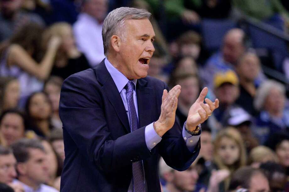 Houston Rockets coach Mike D'Antoni applauds during the first half of the team's NBA basketball game against the Memphis Grizzlies on Friday, Dec. 23, 2016, in Memphis, Tenn. (AP Photo/Brandon Dill) Photo: Brandon Dill, Associated Press / Invision