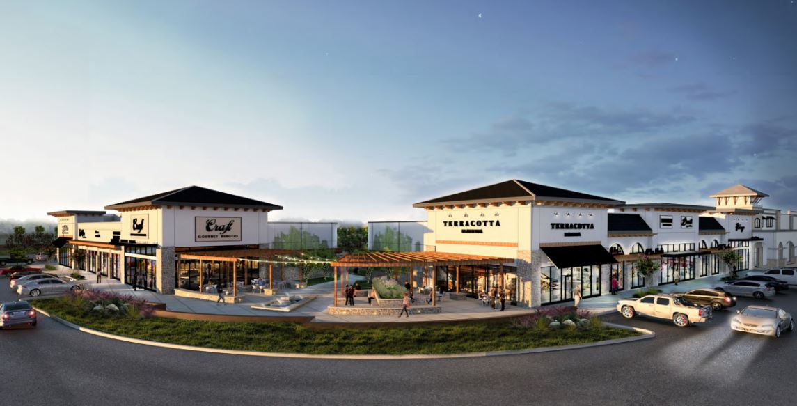 Shopping Center To Take Shape In Riverstone Houston Chronicle