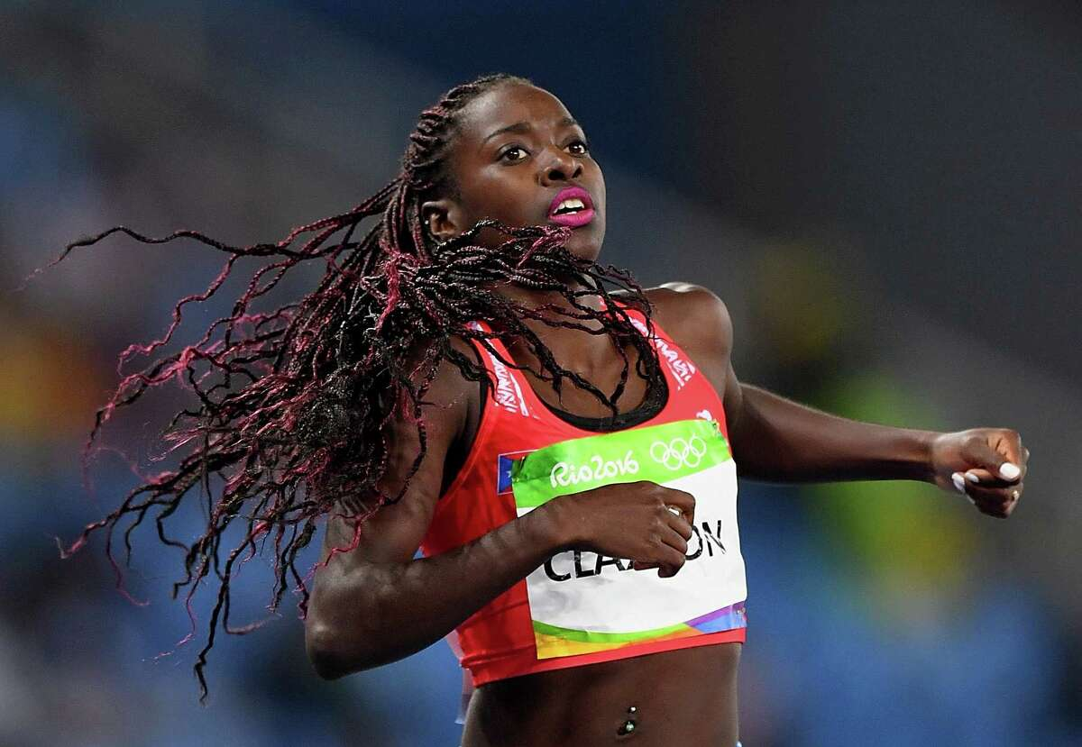 Grace Claxton reached the semifinals of the 400 hurdles at the Rio Olympics. (Quinn Rooney/Getty Images)