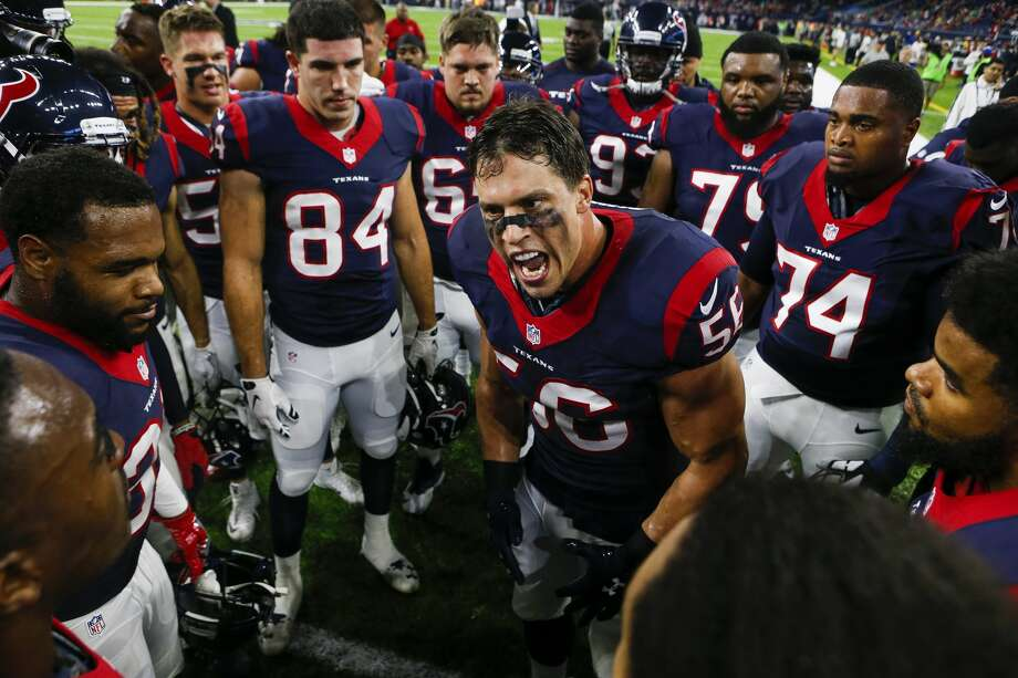 Tickets for the AFC wild-card game at NRG Stadium will go on sale Friday, Dec. 30 at 10 a.m. Photo: Brett Coomer/Houston Chronicle