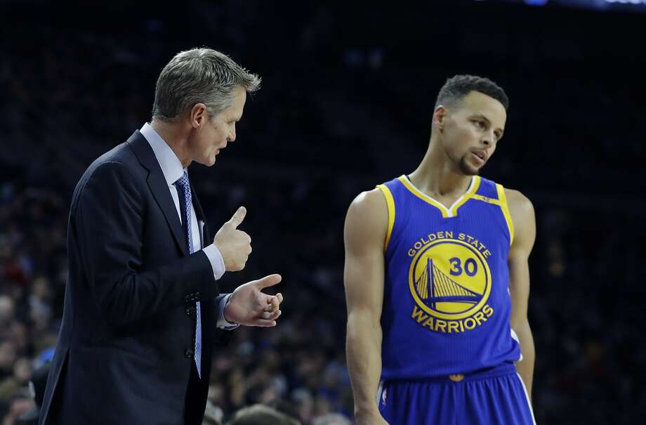 sports shoes c7343 3c504 Steve Kerr not worried about Stephen Curry's shooting slump ...