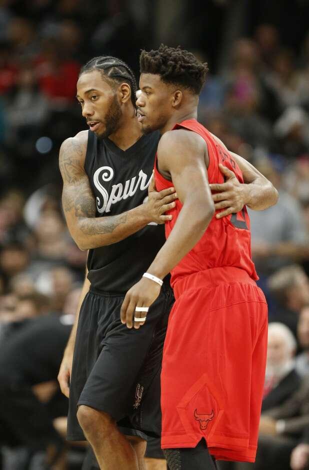 Leonard wins battle with Bulls\' Butler - ExpressNews.com