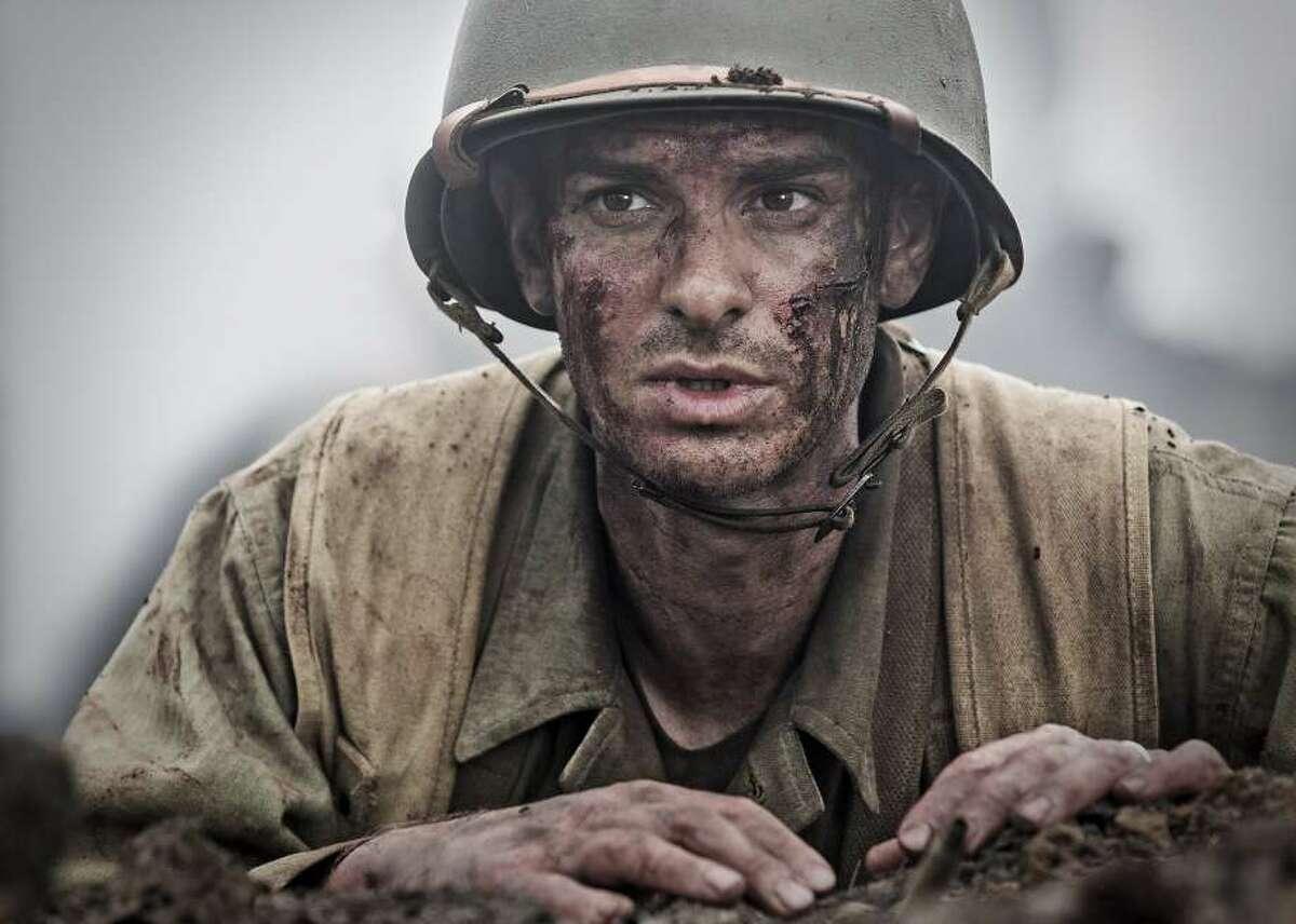 Best actor: Andrew Garfield in HACKSAW RIDGE.
