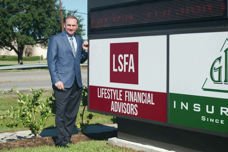 """Lifestyle Lifestyle Financial Advisors Inc. president and CEO Michael A. Wegner says he's happy that his 10,000-square-foot office space at 211 West Edgewood is nearing completion. """"We wanted to build an office that was conducive to our needs, and I wanted to build in Friendswood because it's where I live,"""" he says. Photo: Kirk Sides / © 2016 Kirk Sides / Houston Community Newspapers"""