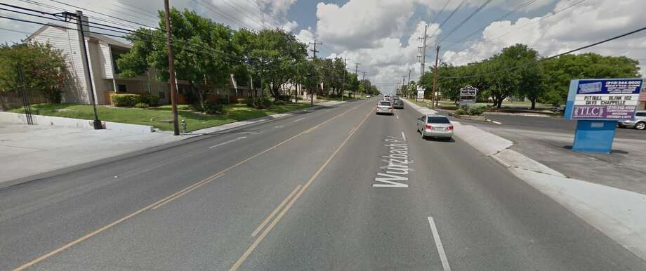 An 8-year-old boy was killed Dec. 25, 2016, in a pedestrian car crash in the 9000 block of Wurzbach Road on the Northwest Side. Photo: Google