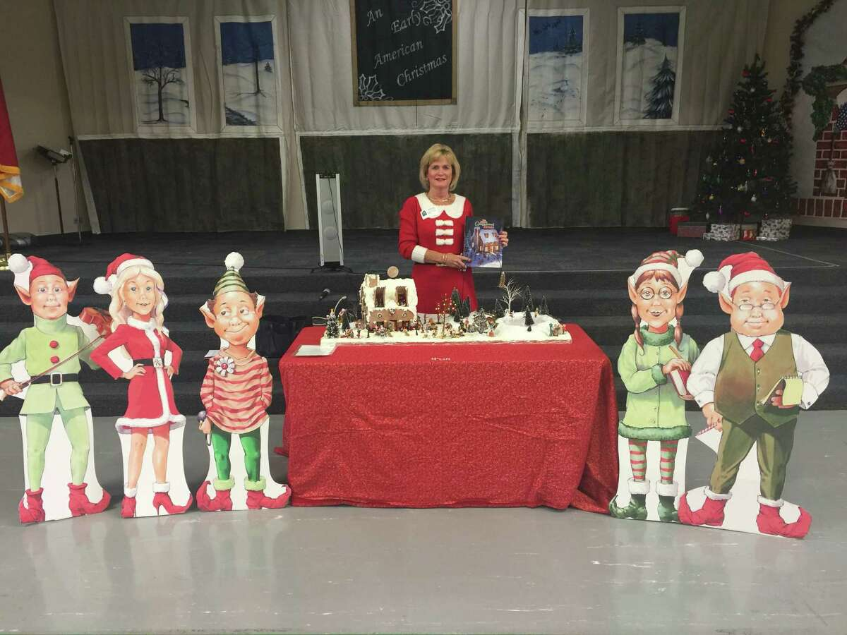 """Woodlands author Pam Franks' book """"The Magic Gingerbread House"""" will be donated to children of deployed military this holiday season as part of a United Through Reading program."""
