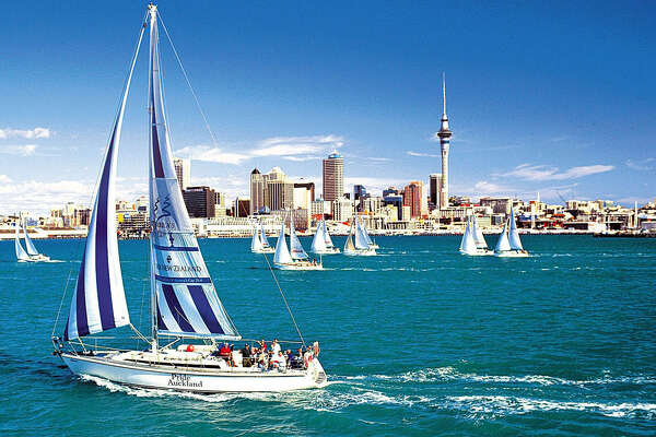 """Sailing is a way of life in Auckland, New Zealand. The nation's tourism slogan is """"100 percent Pure"""" and was dreamed up back in 1999."""