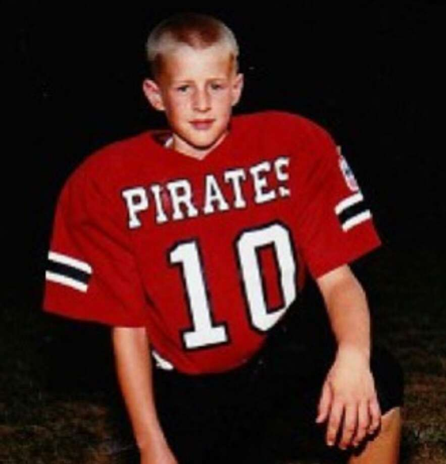 This youth quarterback grew up to become the face of the franchise ... Photo: Instagram