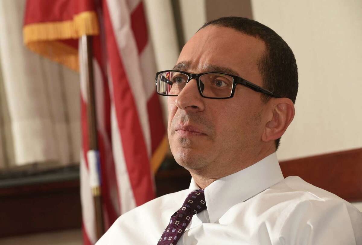 Andrew W. Vale, Special Agent in Charge of the Albany Division of the FBI, is interviewed about going back to Washington at FBI headquarters on Thursday, Dec. 22, 2016 in Albany, N.Y. (Lori Van Buren / Times Union)