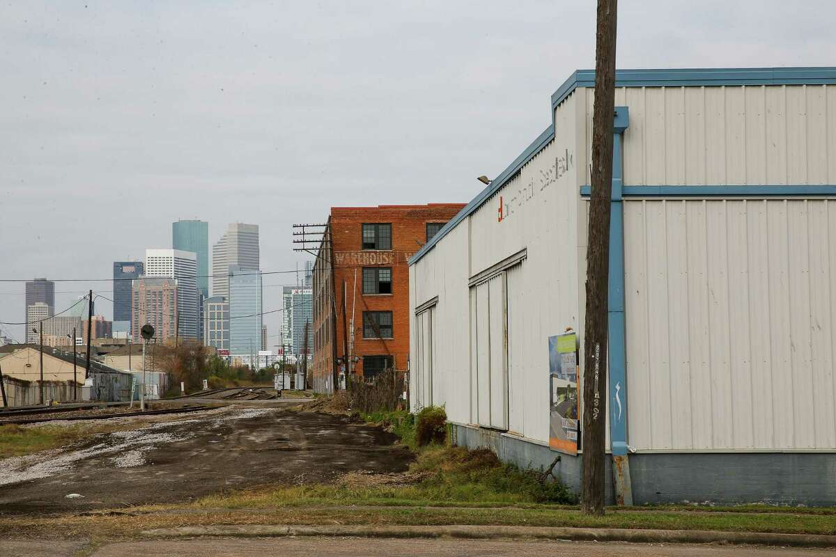Andrew Kaldis' new project, EaDo Workspaces, is a warehouse at Rusk Street and York Street being developed into a hub of shops and businesses Thursday, Dec. 22, 2016 in Houston. ( Michael Ciaglo / Houston Chronicle )