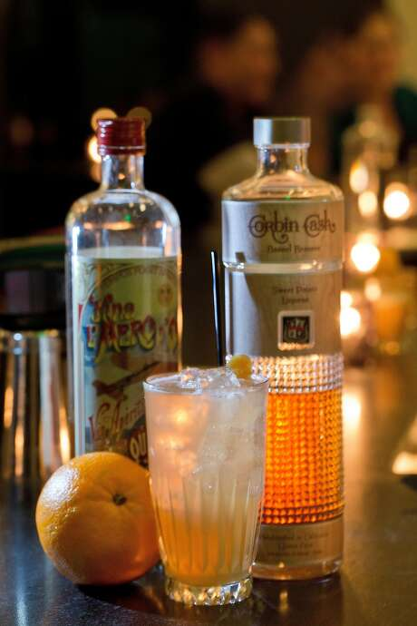 The Oaxaca Holiday cocktail at the Miranda in Oakland. Photo: Carlos Avila Gonzalez, The Chronicle