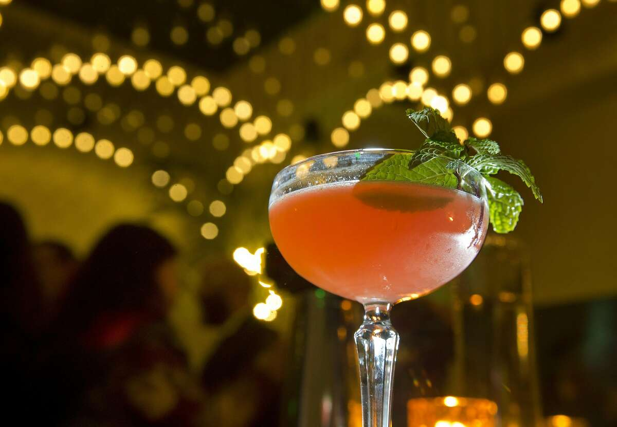at the new cocktail bar The Miranda on Broadway in Oakland, Calif., on Monday, December 26, 2016. The