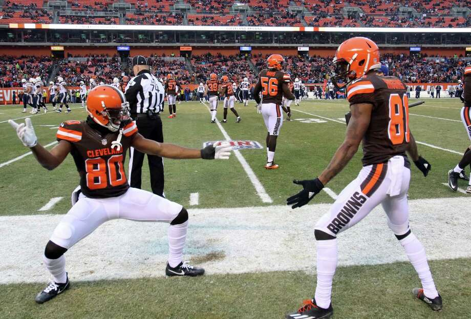 32. Cleveland 1-14 | Last week: 32Their victory over San Diego means they won't join Detroit as the only 0-16 teams, but they still could lose the first overall pick. Photo: Aaron Josefczyk, Associated Press / FR171101 AP