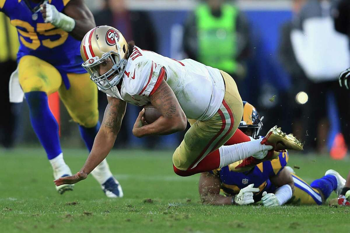 30. San Francisco 2-13 | Last week: 31 They finally broke their 13-game losing streak with the victory at Los Angeles. Both wins have been over the Rams.