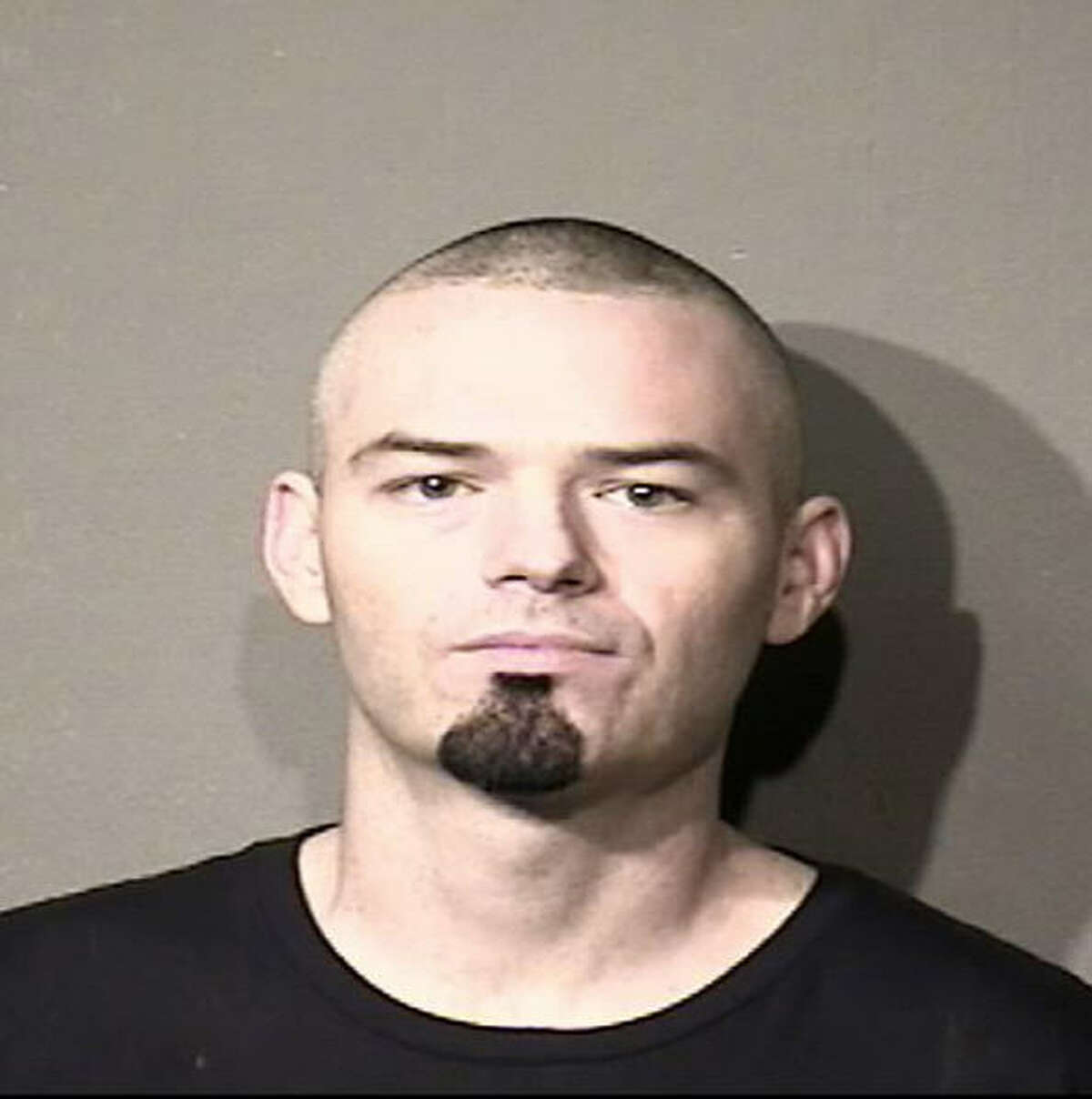 """Paul Slayton, aka """"Paul Wall,"""" appears in a Houston Police mug shot after his arrest on drug charges on Dec. 23, 2016."""