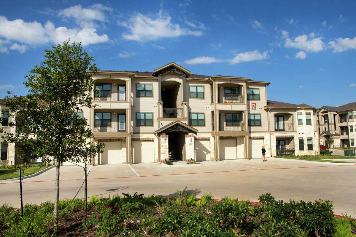 The Alexan Creekside apartments are shown on Thursday, Oct. 30, 2014, in Tomball. ( Brett Coomer / Houston Chronicle )