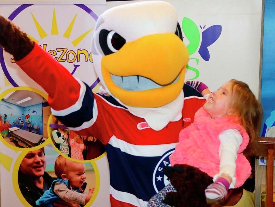 Thanks to the Saginaw Spirit, Covenant HealthCare has been selected as the first hospital in the United States to have Smilezones renovated by Smilezone Foundation USA.