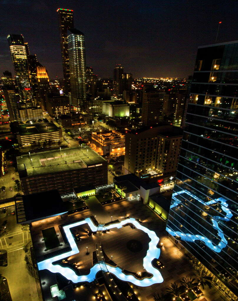 Marriott Marquis Houstonfeatures No Need To Leave Town For The Ultimate Texas Water Experience