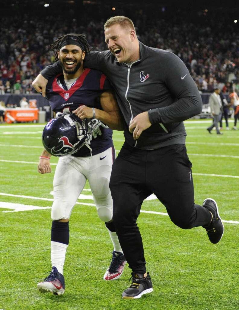 Texans J J Watt ahead of schedule after back surgery Houston