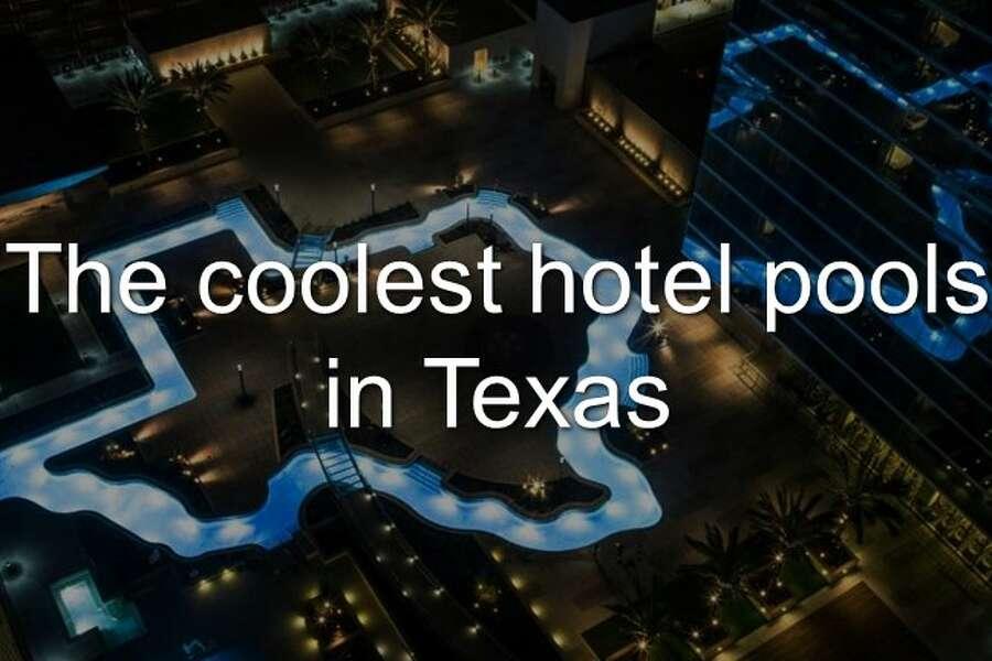 Marriott Marquis Houston\'s Texas-shaped swimming pool earns ...