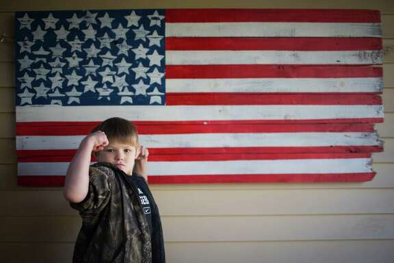 Jack Hence, 8, is an energetic elementary school student who always enjoy going to school until reading became a serious challenge. Hence's parents were told by a teacher that he probably was dyslexic. But when his parents asked for an evaluation, the school administration denied the request. Monday, Dec. 19, 2016, in Houston.