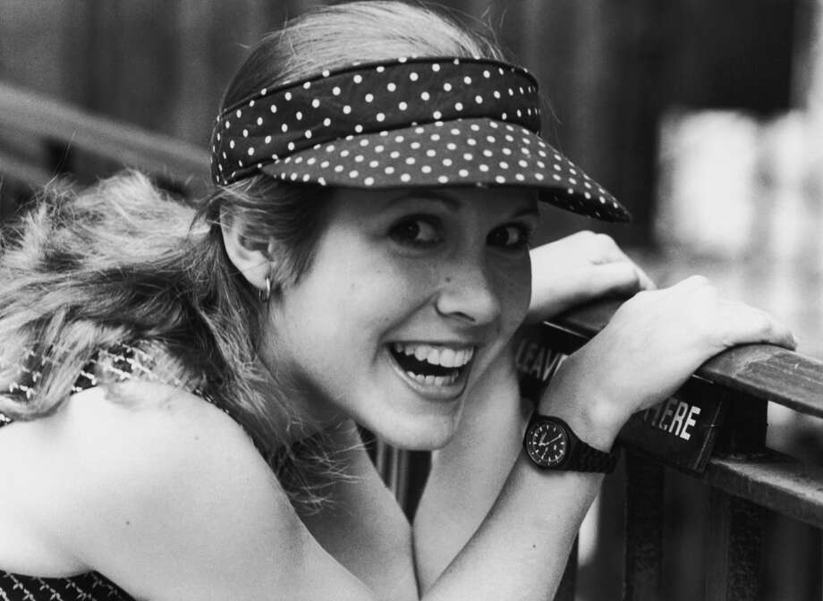 American actress Carrie Fisher, 1980. Photo: Express/Getty Images