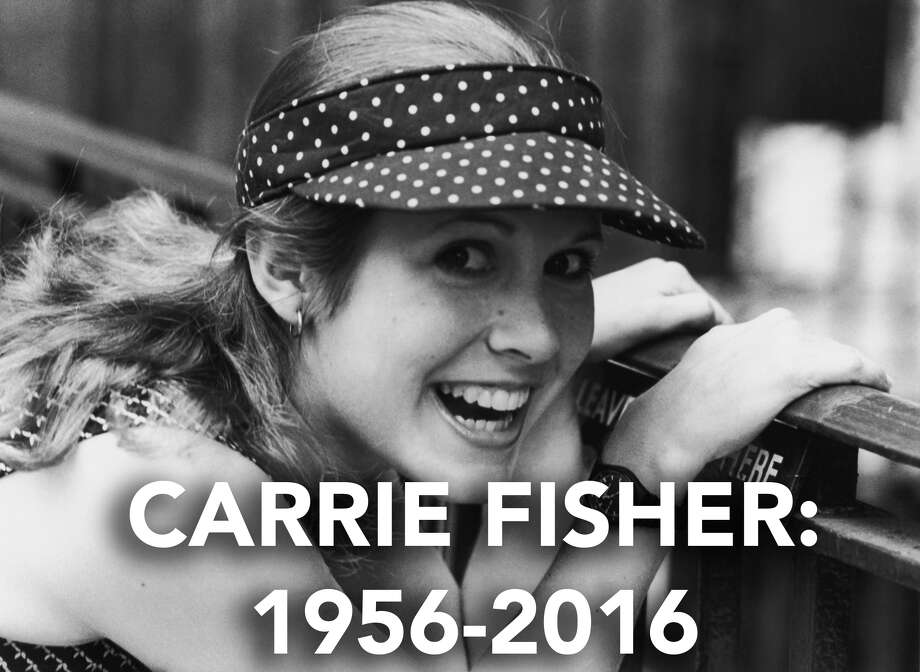 Carrie Fisher 1956-2016 / 2007 Getty Images