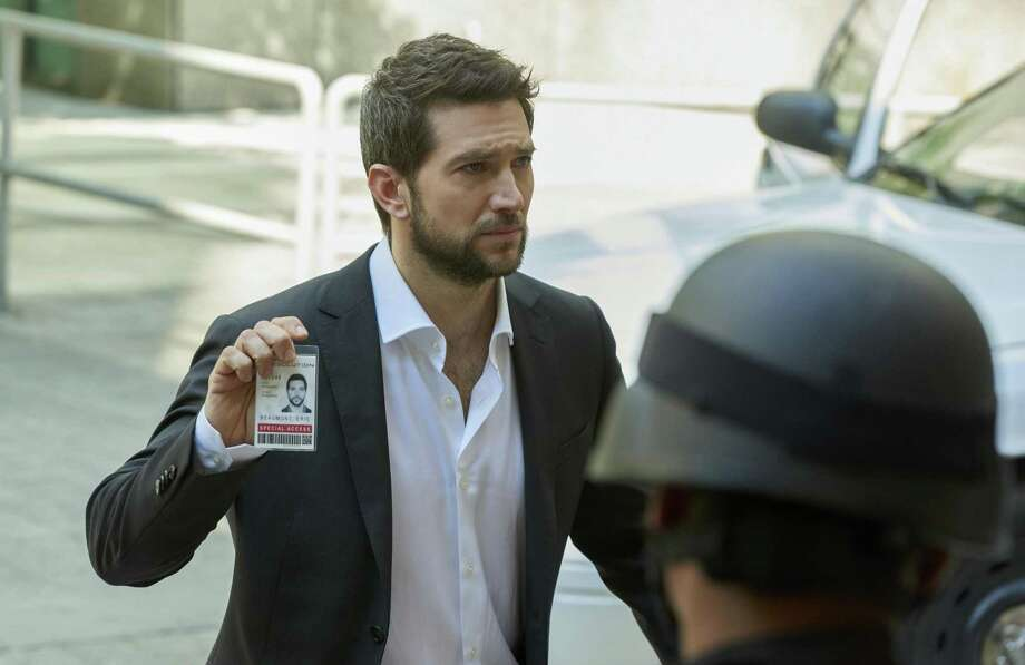 """""""The Return"""" -Top crisis and hostage negotiator Eric Beaumont uses his insight into human behavior to resolve the most difficult kidnap and ransom cases, and save lives, on the series premiere of RANSOM, Sunday, Jan. 1, 2017 (8:30-9:30 PM, ET/8:00-9:00 PM, PT) on the CBS Television Network. Luke Roberts, Sarah Green, Brandon Jay McLaren and Nazneen Contractor star in the new drama inspired by the real-life professional experiences of world-renowned crisis negotiator Laurent Combalbert and his partner, Marwan Mery. Pictured: Luke Roberts (Eric Beaumont) Photo: Steve Wilkie/eOne © 2016 Ransom Television Productions Inc. and Wildcats Productions. All rights reserved in the U.S. only Photo: STEVE WILKIE / Ransom Television Productions Inc. And Wildcats Productions / © 2016 Ransom Television Productions Inc. and Wildcats Productions.  All rights reserved in the U.S. only."""