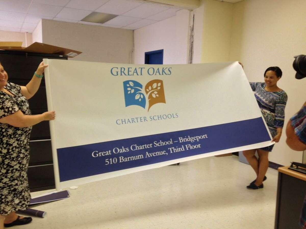 Great Oaks Charter School prepares for opening in 2014 in Bridgeport, CT.